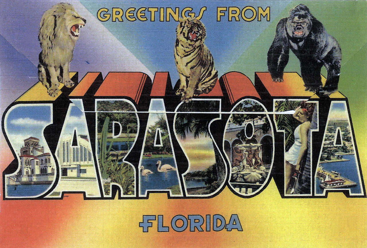 Postcard greetings from sarasota florida sarasota history alive sarasota history greetings from sarasota florida photo kristyandbryce Image collections