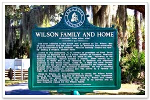 Sarasota History - Wilson Family and Home photo